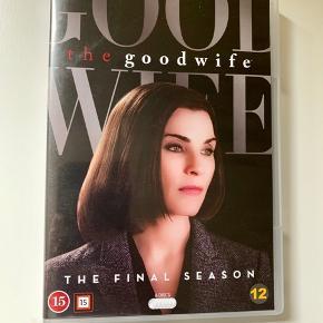 Sæson syv af den supergode serie: The Good Wife. Med danske undertekster. Sender gerne med DAO.  MobilePay er meget velkomment.  Prisen er plus porto.  Bud er velkomne :-)