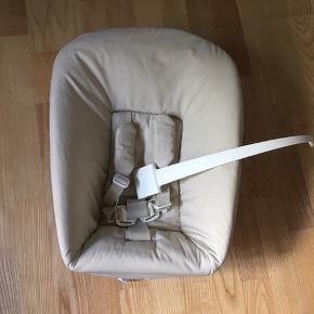 Stokke babyindsats (newborn) til triptrap stol- god stand og nyvasket 6710 sjelborg 300kr