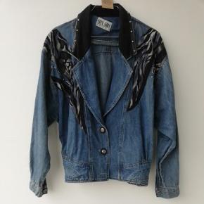 Vintage 80'er Denim jakke str s/m