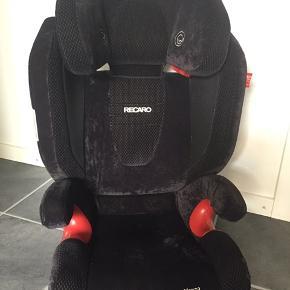 Auto stol fra Recaro - meget fin stand