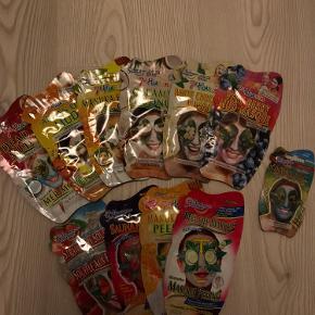 10 ansigtsmasker og 1 lille fra Montagne Jennesse til salg! Alle sendes samlet  Køber betaler fragt