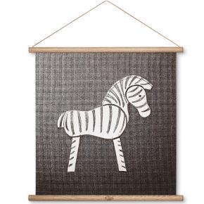 Fin Kay Bojesen plakat med Zebra - aldrig brugt og stadig i indpakning.  Nypris 400 kr - sælges for 250 + evt. fragt.