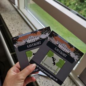 Jeg sælger disse to billetter til go high. Det er til to voksne