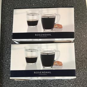 Rosendahl Copenhagen - Grand Cru Soft hot drink glas 35 CL Aldrig brugt og pris er for begge pakker (4 stk i alt)