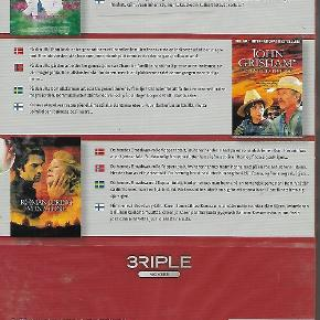 0074 - 3 Riple movies vol. 48 (DVD)  Dansk Tekst - I FOLIE   Dr.T and the women  Apainted house  The roman spring of mrs. stone