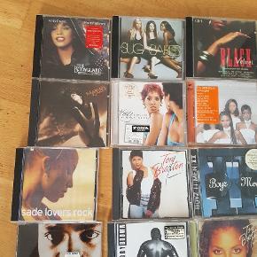 42 blandet cd'er  sælges samlet for kun 250 kr  afhentning på adressen i Hvidovre