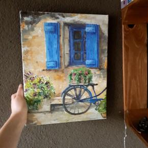 Öl auf Leinwand - Romantisches Motiv.Mit sehr viel Liebe selbst gemalt :)  Preis verhandelbar