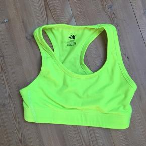 Neongrøn sports bh