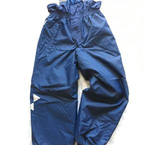Som nye - mange lækre detaljer og super slidstærke  Overtræksbukser Farve: Blå