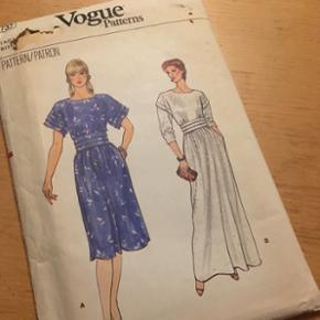 Vogue vintage symønstre. Str uk 10. Kan sendes for 18kr med postnord