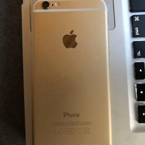 IPhone 6 med 16 GB, skærmen er gået i stykker, men der skal blot skiftes skærm, så fungere den fint.