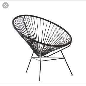 Rigtig fin loungestol - den originale fra OK Design, model Condesa. Nypris 2975kr