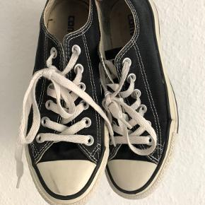 Classic black converse shoes. Good condition