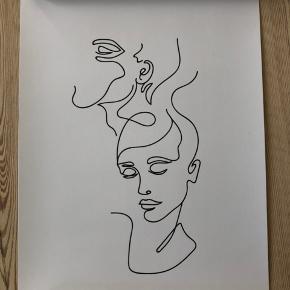 Helt ny plakat fra Desenio. Måler 21x30 cm.