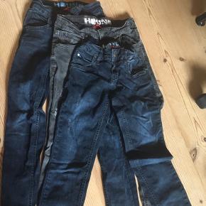 3 par jeans str xs og s (ca 10-12 år)