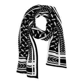 Har lige købt det her. Rigtig flot stand. Dejlig blød og varm tørklæde. Længde ca. 214 cm, brede 40 cm.