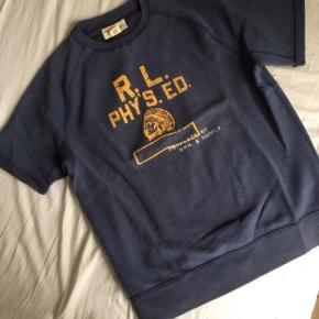 Sender ikke Denim&Supply Ralph Lauren Sweatshirt med korte ærmer. Str M Nypris 900,-