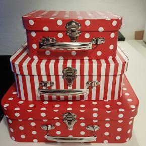 Smart kuffertsæt til en lille pige (eller flere) 3 stk. Nye (uden prismærke)