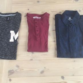 Drengetøj fra HOUNd & Mono i flot stand Blusen er ny Skjorte & bluse str S & L svarer til str 176 Samlet pris 150 kr eller 65 kr pr del