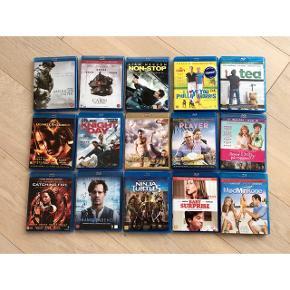 Oprydning skyldes jeg ikke har plads til disse film længere - 20 kr.God pris ved køb af flere