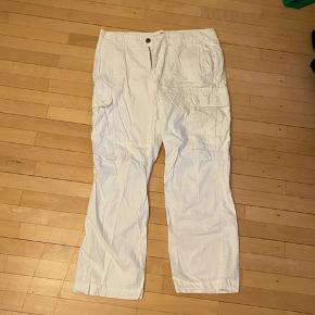 Hvide cargo Dickies bukser. #30dayssellout