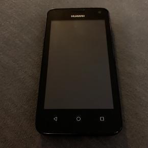 Huawei telefon der er brugt i 1 uge og fejler ingen ting. Kan ikke huske modellen, blev købt hurtigt da jeg skulle bruge en reserve mobil. Sender gerne, køber betaler fragt