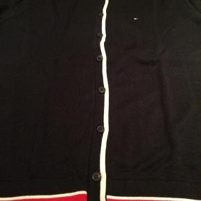 Købt i NY, blå med hvide og røde kontraster. Bomuld. Alm. i str.