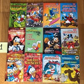 PAKKE 1, 3, 4, 5, 6, 7, 8, 9 og 10: Hver pakke indeholder 12 Jumbobøger.  De fleste bøger er næsten som nye - enkelte godt brugte.  SÆLGES KUN SOM DE VISTE PAKKER OG TIL 100,- PR. PAKKE.   Afhentes i 8654 Bryrup eller sendes mod betaling. Til salg flere steder. Fra røgfrit hjem.