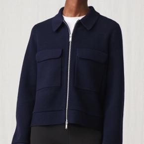 Arket jacket in Navy. Size XS. Never used.