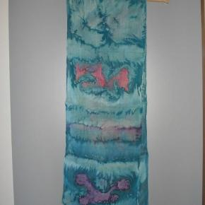 Tørklæde str. 30x165 cm. brugt et par gange.  Tørklæde Farve: mix