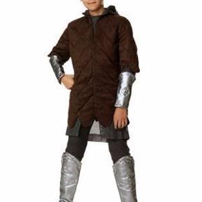 Eventyrcompany NY Ridder tunika Størrelse: Large (6-8 år) stor Super lækker vateret ridder tunika.  Den er helt NY stadig med mærke.  Fast pris: 80 kr. pp
