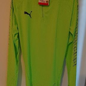 Ny puma Træning trøje med hætte grøn str S