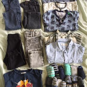 Fin tøjpakke, mærker som Zara, katvig, mango,   Natdragter, skjorter, bukser, strømper, bluser