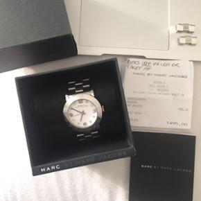 Sælger mit smukke Marc by Marc Jacobs ur. Fejler intet! Kvittering, boks, ekstra led medfølger