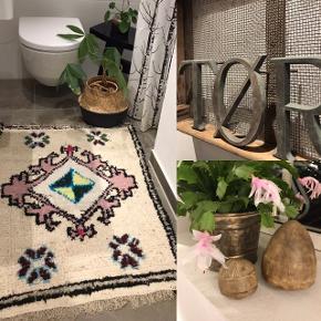 Marrokansk tæppe med unika look