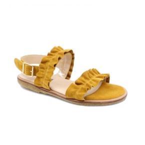 """Super lækre Angulus sandaler - gule - str 39.5 Er brugt 3 gange - men er ikke """"rigtige"""" på mine fødder  Nypris 1099,-"""