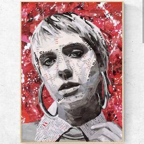 Art by Bisse. Collagekunst. Sælges som print i lækkert 170 g. papir. (uden ramme) 300 kr. for afhentning i Århus/360 kr. inkl fragt. Lady gaga plakat A2. (420x594 mm)   💥Følg gerne min instagram artbybisse, som bliver opdateret løbende. 🙂  💥http://www.facebook.com/artbybisse  Tags: MØ, kunst, plakat, poster, Urban, artbybisse, graffiti, collage