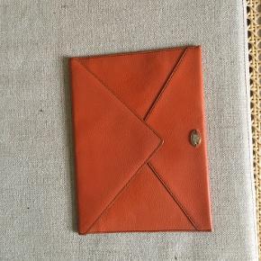 Lancel envelope clutch/læder kuvert