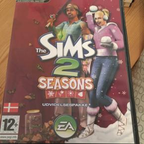 Sælger 3 sims spil:  - The Sims 2 Seasons  - The Sims 2 Double Deluxe  - The Sims Medieval    20kr pr stk