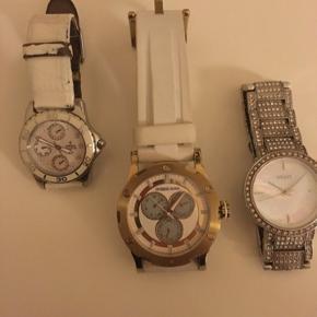 Sælger mine flotter ure alle 3 er ægte..... 1. Festina 2. Dyrberg Kern  3. DKNY  BYD BYD BYD