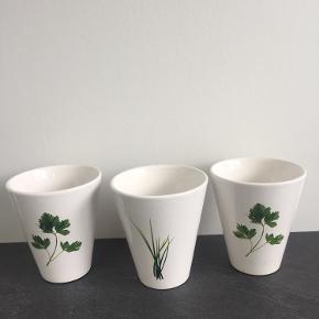 Fine potter til urter