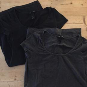 Fine lange t-shirts fra H&M i str s Pris pr stk