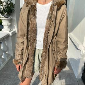Woolrich pels- & skindjakke