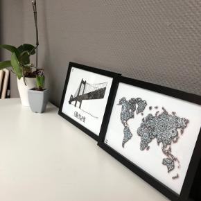 Restparti sælges også samlet: Herunder følgende størrelser: 1 x 70x100cm 2 x 60x80cm 4 x A3 5 x A4   CeKi designs er et tidligere plakat firma, designet og printet af migselv og en veninde men nu sælger vi de sidste billeder inden vi drager til nye projekter ☺️ det er altså dansk design, lavet med kærlighed af to studerende ❤️  Billederne kan afhentes i Slagelse eller København.