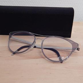 Lindberg titanium brille-solbrillestel (pt med +/-glas) brugt 1 uge, fejlkøbt for stort stel/model, modtager gerne bud