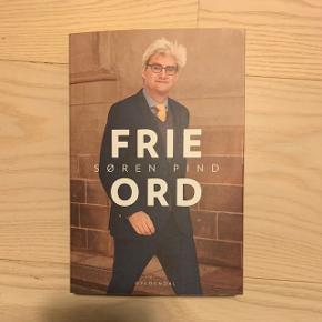 Den helt nye Søren Pind bog - aldrig brugt og er købt ved en fejl...