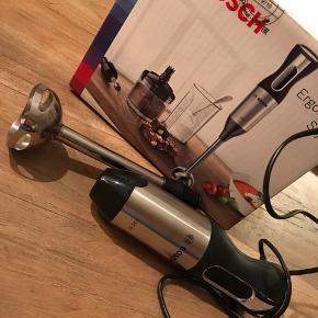 Helt ny og ubrugt BOSCH ErgoMixx Style  Lækker og rigtig nem til køkkenet/ og eller ferien ..  alt medfølger