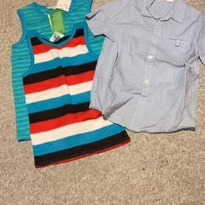 2 nye toppe/undertrøje 1 ny skjorte evt til julens fester
