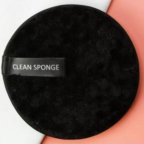Rense sponge i sorte nye 25 kr pr stk. Prisen er fast
