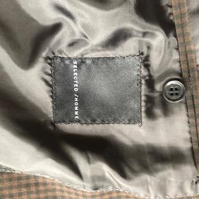 Ternet brunt og sort  bukser str 34/30